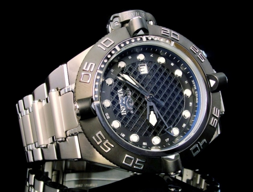 invicta 1153 subaqua noma iv swiss made gmt 500 meters