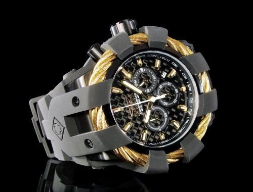 invicta bolt 23866 japan movement chronograph