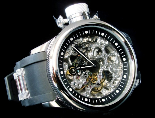 Мужские часы Invicta 1088 Russian Diver Skeleton