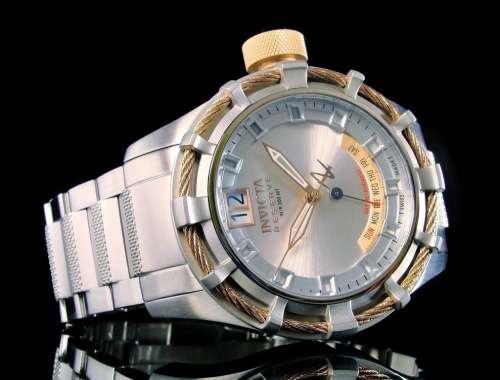 мужские часы invicta 1579 reserve bolt swiss made
