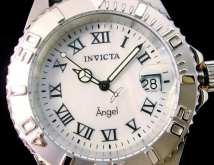 invicta 18400 angel genuine leather