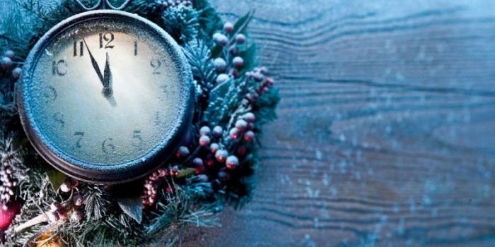 Часы от Деда Мороза
