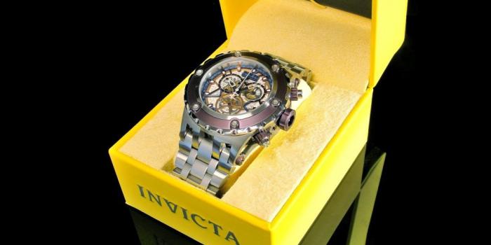Швейцарский хронометр Invicta