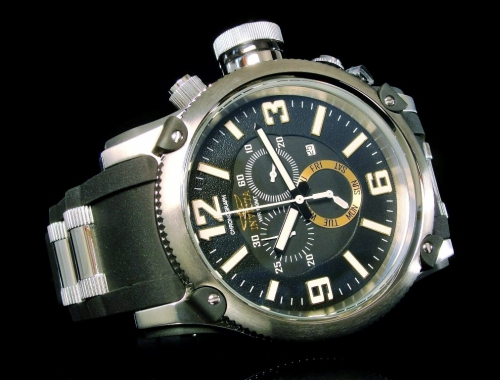 invicta 11365 russian diver chronograph