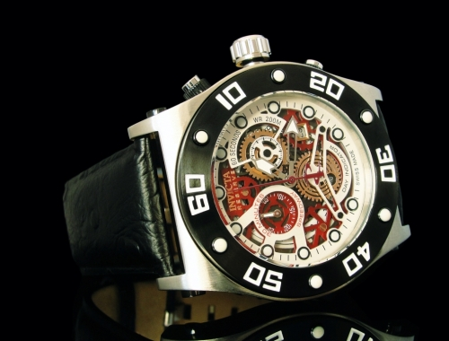 invicta 90198 speedway swiss made chronograph