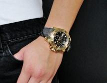 Женские часы Invicta 18323 Excursion Swiss Made Gold Chronograph