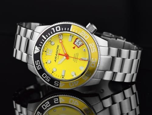 Мужские часы Aragon A337YEL