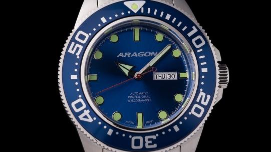 00064 Aragon A064BLU 45 мм - Фото_1