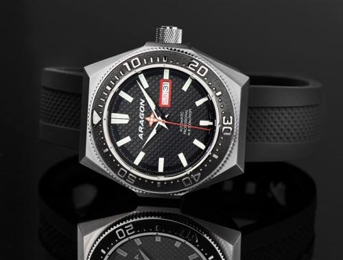 Мужские часы Aragon A384BLK