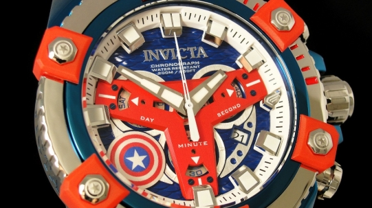 26763 Invicta Marvel Captain America - Фото_1