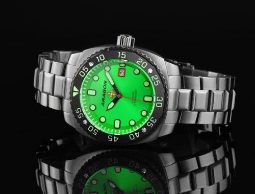 Мужские часы Aragon A358GRN Parma 2