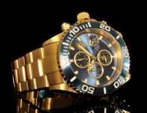 invicta 18005 sea base limited edition gold swiss made chronograph 500m