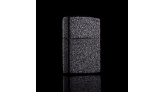 00396 Zippo 236 Reg Black Crackle - Фото_1